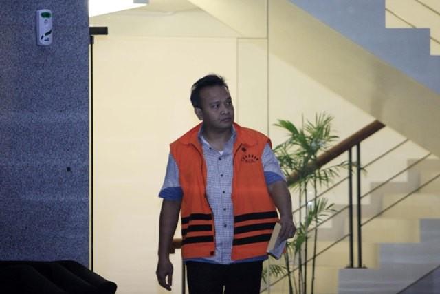 Mantan Direktur PT Murakabi Sejahtera Irvanto Hendra Pambudi - MI/Rommy Pujianto.