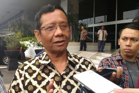 Eks Ketua MK Mahfud MD/Medcom.id..Ilham Wibowo