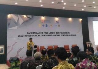 Tahap Pertama Riset Mobil Listrik Indonesia Rampung