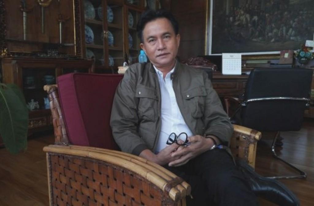 PBB chairman Yusril Ihza Mahendra (Photo:Medcom.id/Intan Fauzi)