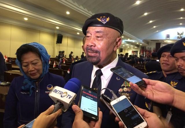Gubernur ABN NasDem I Gusti Kompyang (IGK) Manila. Foto: Medcom.id/Juven Martua Sitompul.