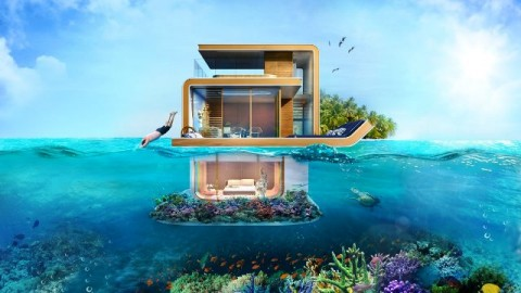 <i>The Floating Seahorse</i>, Villa Mewah <i>Anti-mainstream</i>