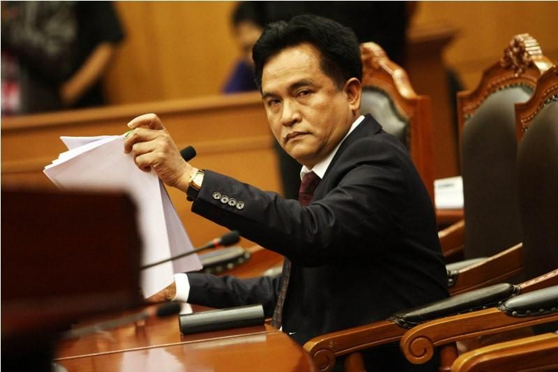 Ketua Umum Partai Bulan Bintang Yusril Ihza Mahendra. Foto: MI
