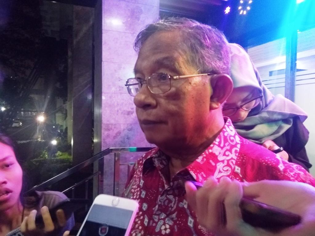 Coordinating Minister for Economic Affairs Darmin Nasution (Photo:Medcom.id/Kautsar Widya)