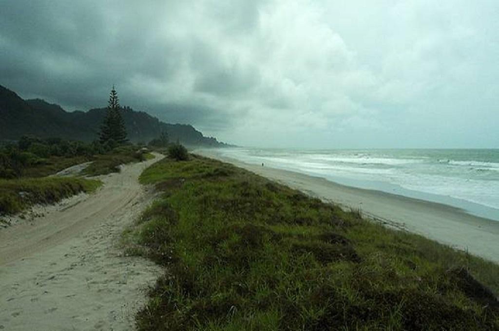 Pantai Matata di Selandia Baru. (Foto: Air55/Wikipedia)
