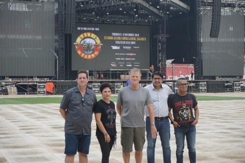 Guns N' Roses Puji Gelora Bung Karno