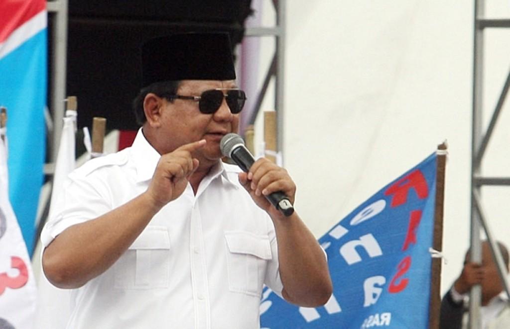 Capres nomor urut 02, Prabowo Subianto. Foto: MI/Susanto.