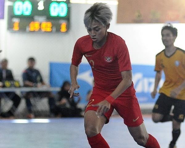 Pemain timnas futsal Indonesia Bambang Bayu Saptaji (Foto: Antara/M RISYAL HIDAYAT)