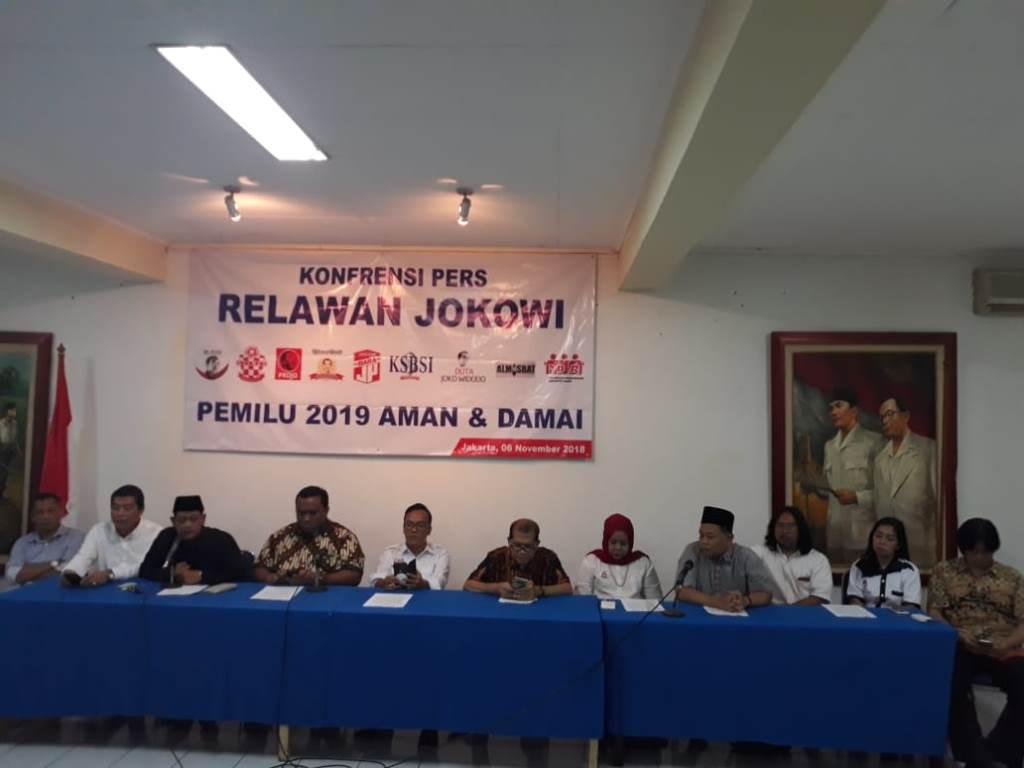 Forum Relawan Joko Widodo. (Medcom.id/Adin)