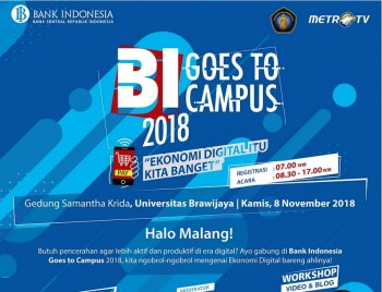 BI Goes to Campus Kunjungi Mahasiswa di 4 Universitas