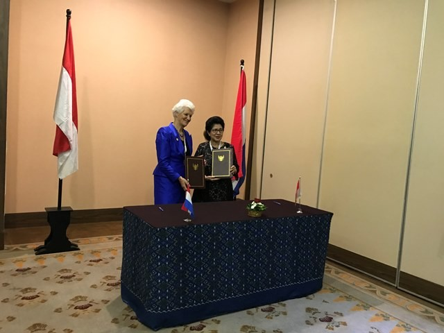 Menteri Kesehatan RI dan Menteri Negara Belanda masing-masing menyatakan ketertarikannya untuk kerja sama di bidang kesehatan. (Foto: Dok. Medcom.id/Raka Lestari)