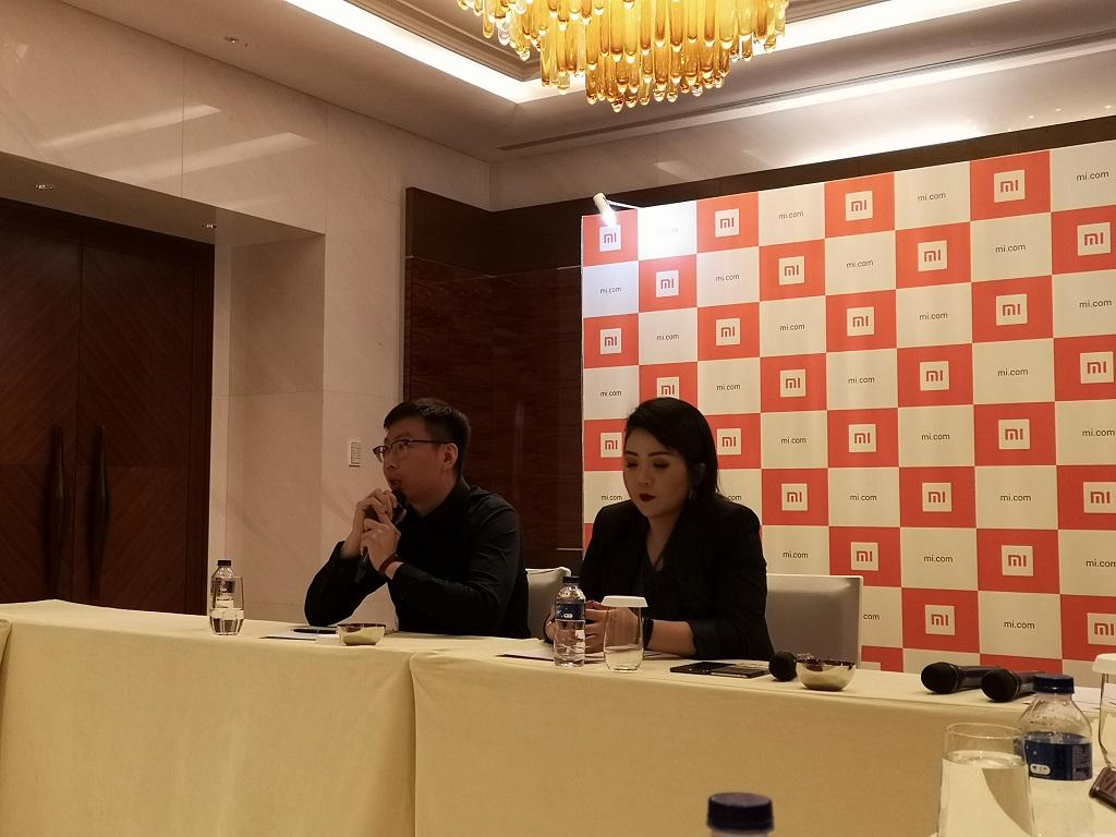 Konferensi pers Xiaomi di Jakarta, Selasa 6 November 2018