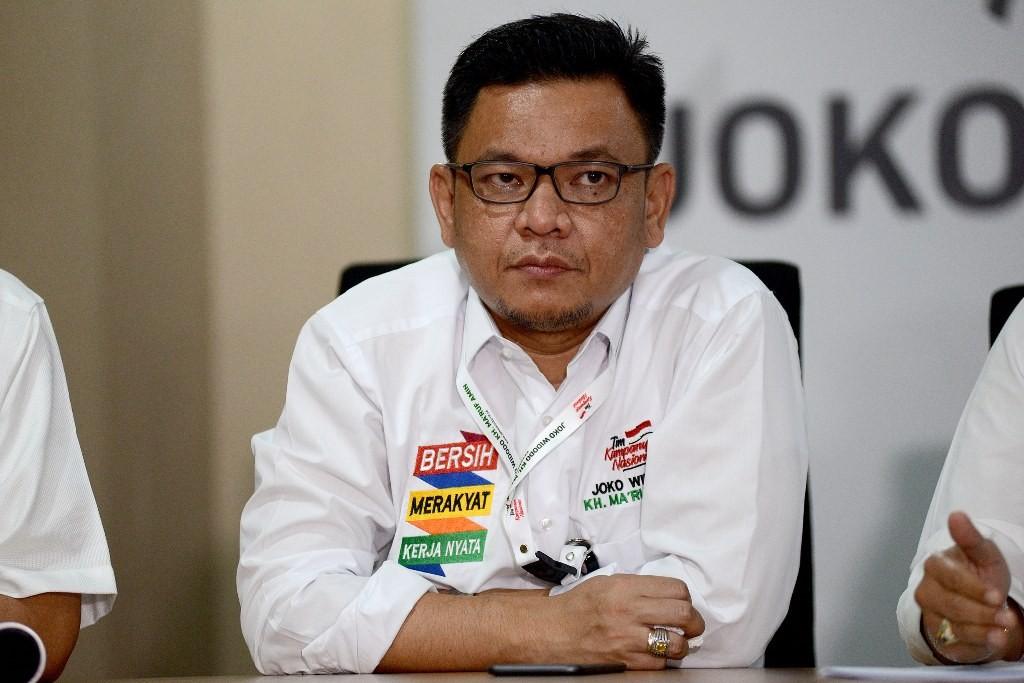 Juru bicara Tim Kampanye Nasional (TKN) Ace Hasan Syadzily. (Foto: MI/Susanto)