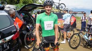 Pembalap Sepeda Jerman Ketagihan Ikut Tour de Singkarak