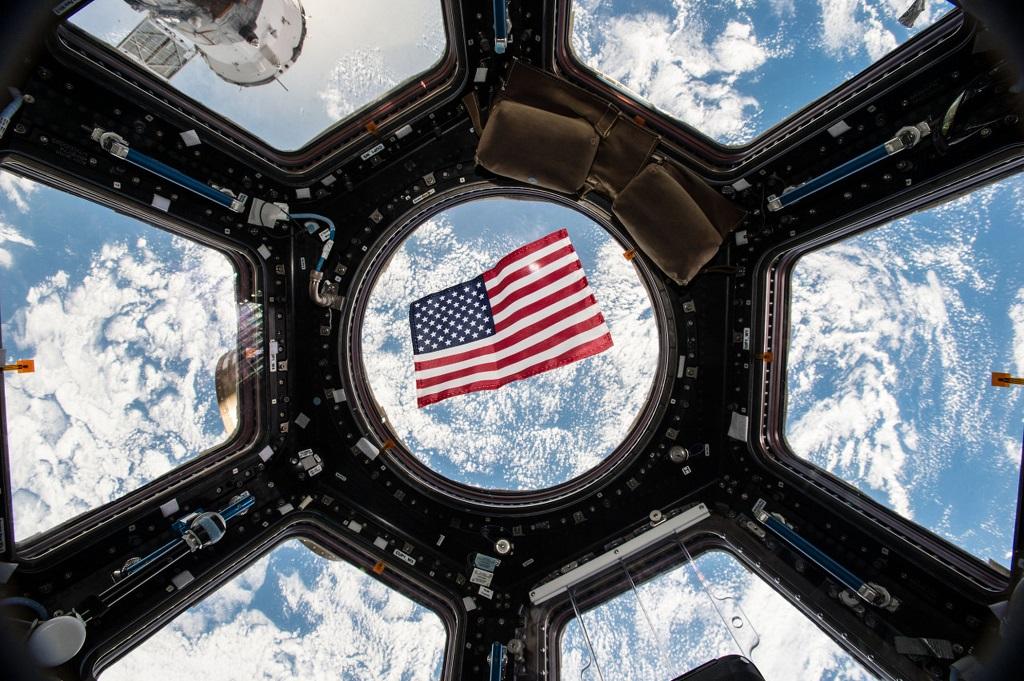 Astronot AS juga tetap bisa ikut serta dalam pemilu. (NASA / Kjell Lindgren)
