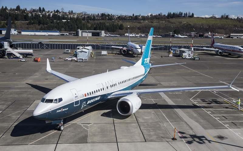 Sebuah pesawat Boeing 737 Max-7 di landasan Bandara Seattle, Amerika Serikat (AS). (Foto: AFP).