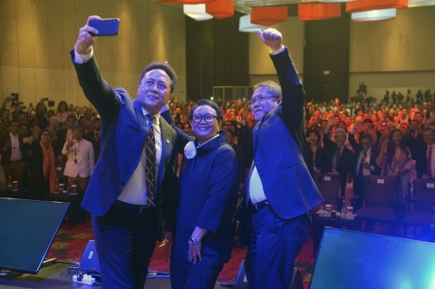 Lagu <i>We Will Rock You</i> Ramaikan Konferensi Ekonomi Kreatif
