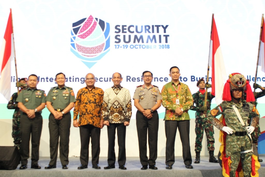 Security Summit 2018 mengambil tema New Paradigm-Integrating Security Resilience into Business Excellence (Foto:Dok)