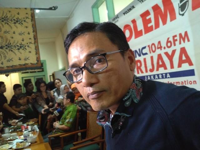 Direktur Pencapresan DPP PKS Suhud Aliyudin--Medcom.id/Nur Azizah.