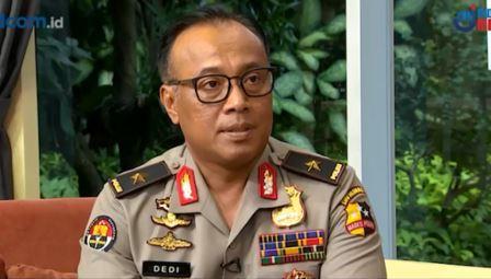 Kepala Biro Penerangan Masyarakat Divisi Humas Polri Brigjen Dedi Prasetyo. (Foto: Metro TV)