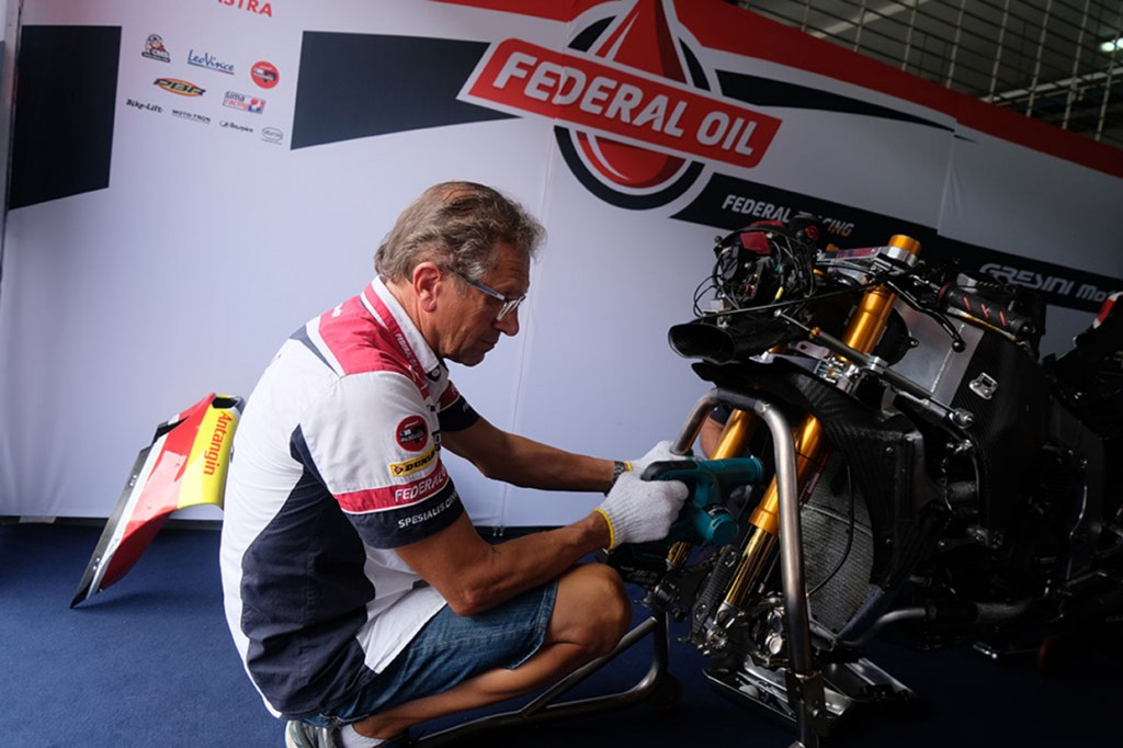 Mengintip Paddock Federal Oil Gresini Moto2