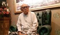 Tokoh intelijen/pendiri Partai Keadilan, Suripto. (Medcom/M Rodhi Aulia)