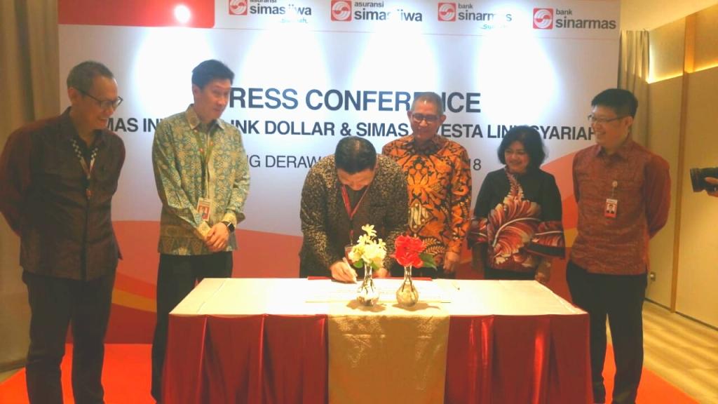 Bank Sinarmas menggandeng Asuransi Simas Jiwa meluncurkan dua produk bancassurance. (FOTO: dok Bank Sinarmas)