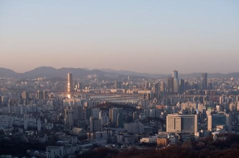 Kota Seoul di Korsel. (Foto: AFP)