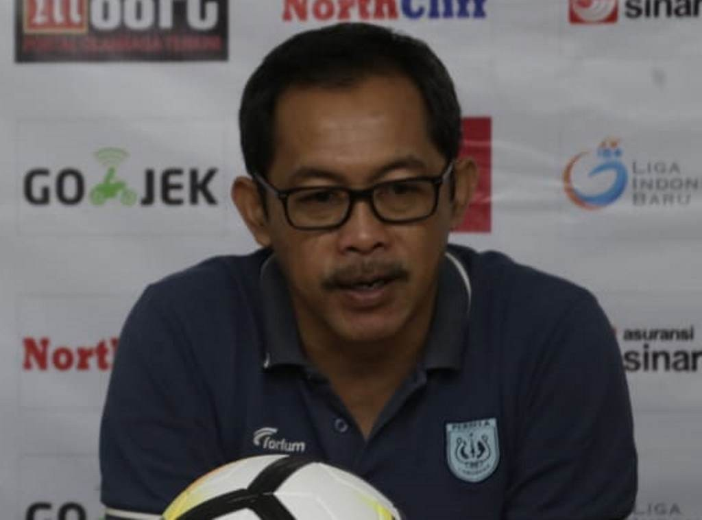 Pelatih Persela Lamongan, Aji Santoso. (Foto: MI/Puji Santoso)