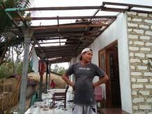 Langkisau Rusak Belasan Rumah di Sumenep