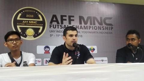 Pelatih Timnas Futsal Thailand, José María Pazos Méndez