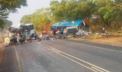Kecelakaan Bus di Zimbabwe Tewaskan 47 Orang