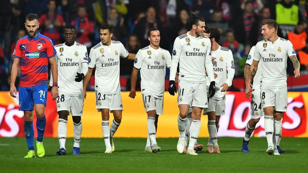 Real Madrid membantai Viktoria Plzen 0-5 (Foto: UEFA)