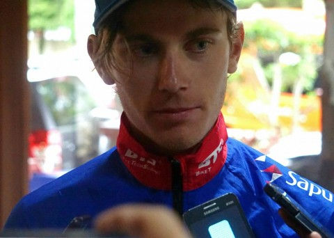 Pembalap asal Australia Jesse Ewart (Foto: Medcom.id/Zam)