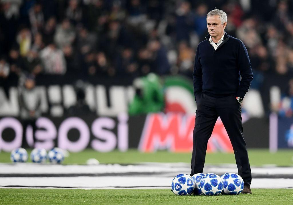 Pelatih Manchester United, Jose Mourinho (AFP/Marco Bertorello)