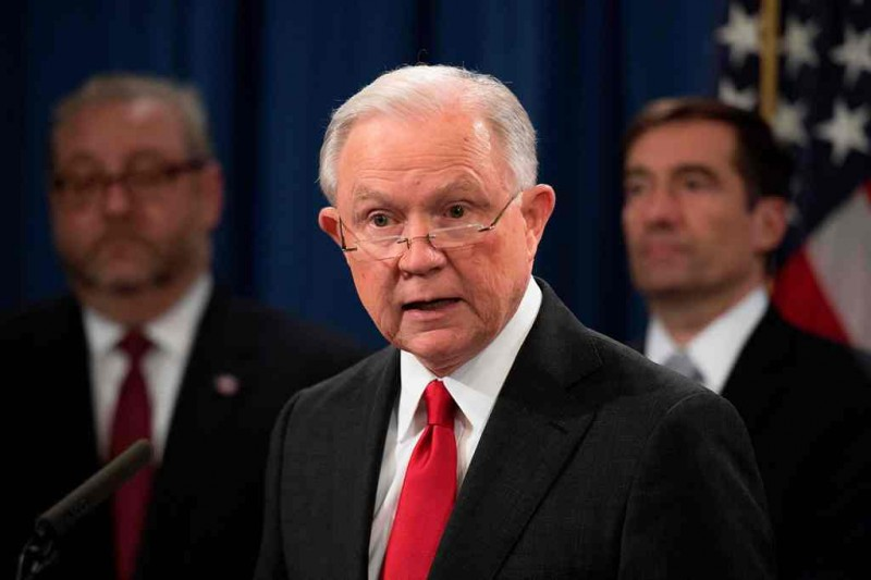 Jaksa Agung AS, Jeff Sessions dipecat usai pemilu sela. (Foto: AFP).