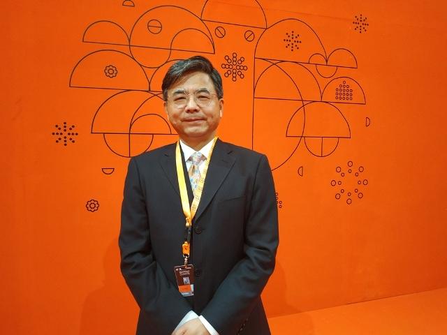 President of China Film Group Corporation Le Ke Xi/Medcom.id/Wandi Yusuf