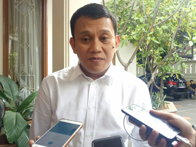 Wakil Ketua TKN KIK Abdul Kadir Karding/Medcom.id/Arga Sumantri
