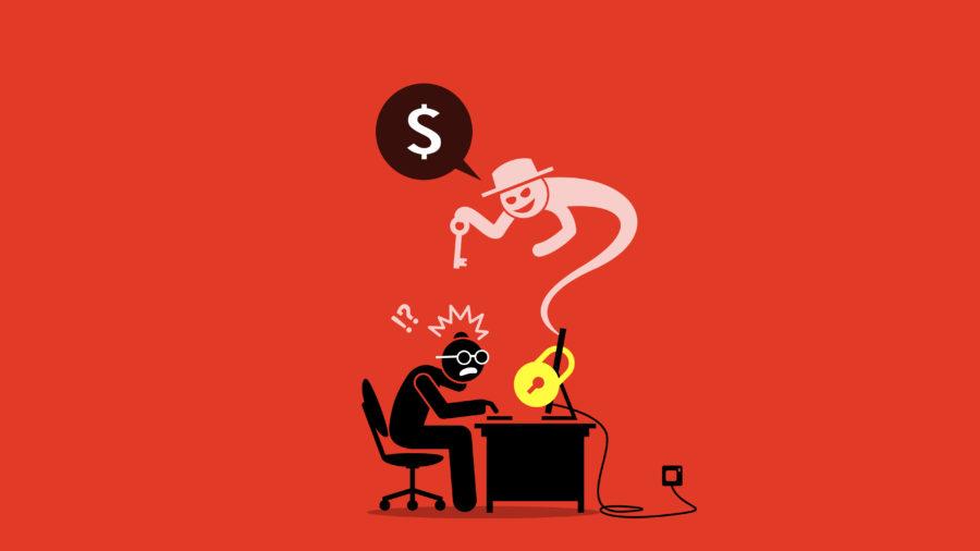 Ilustrasi ransomware. (Shutterstock)