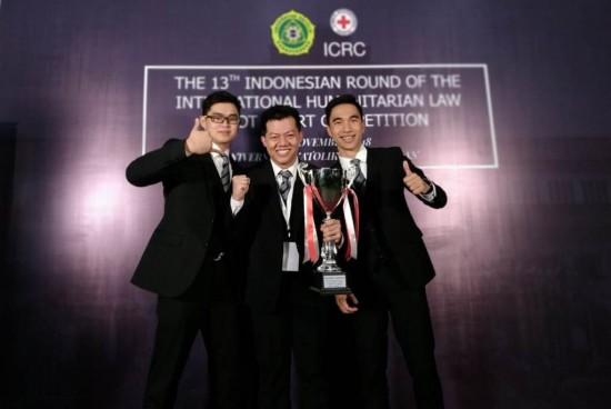 Singkirkan UI, UNPAR Juara Nasional Kompetisi HHI