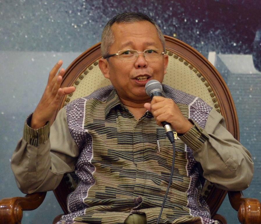 Anggota Tim Kampanye Nasional (TKN) Jokowi-Ma'ruf Arsul Sani. (Foto: MI/Susanto)