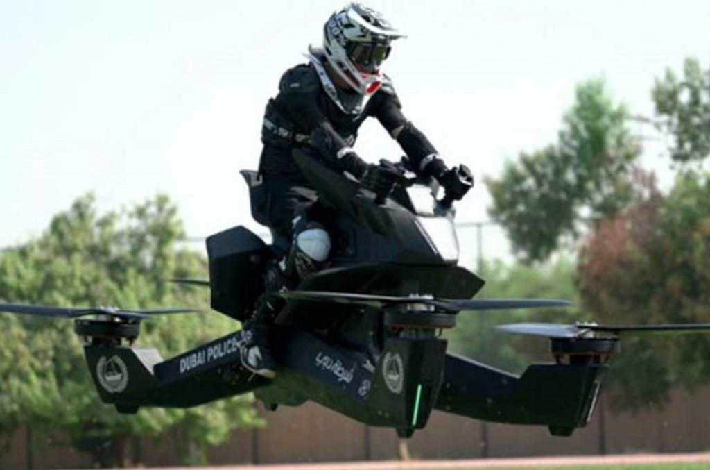 Hoverbike, motor terbang yang mulai diproduksi untuk dijual. Hoversurf