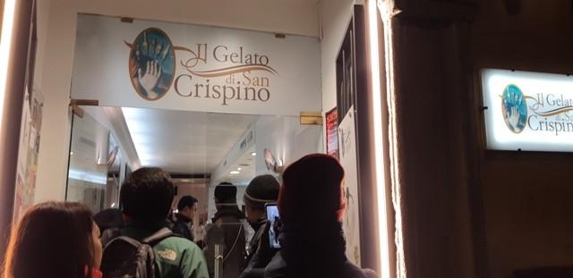 Menyerbu Gelato di Il San Crispino Roma Italia. (Foto: Medcom/Fitra Iskandar)