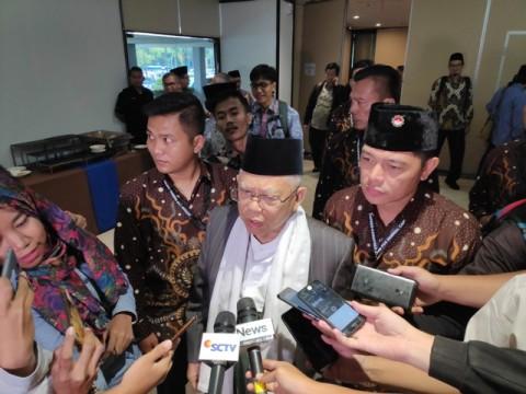 Calon wakil presiden nomor urut 01 Ma'ruf Amin--Medcom.id/M