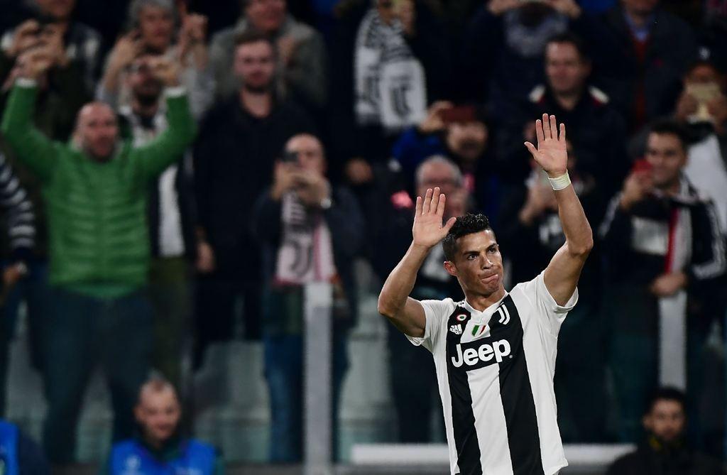 Penyerang Juventus, Cristiano Ronaldo (AFP/Miguel Medina)