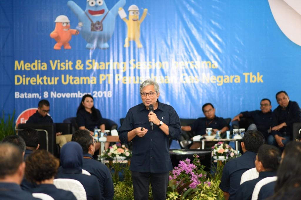 Direktur Utama PT PGN Tbk, Gigih Prakoso. (Foto: Dok. PGN)
