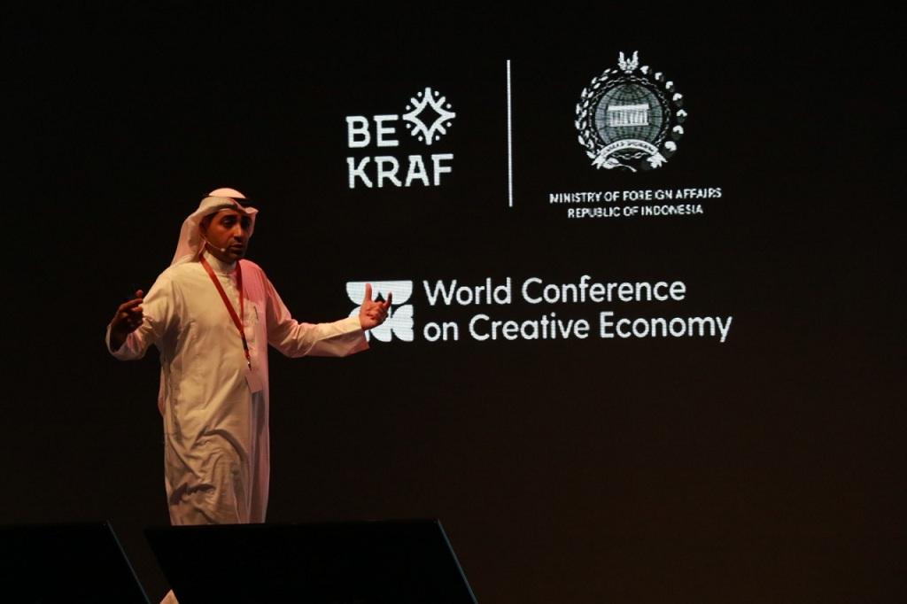 Chief Executive Officer (CEO) Badir, Nawaf Al Sahhaf - Medcom.id/Wandi Yusuf.