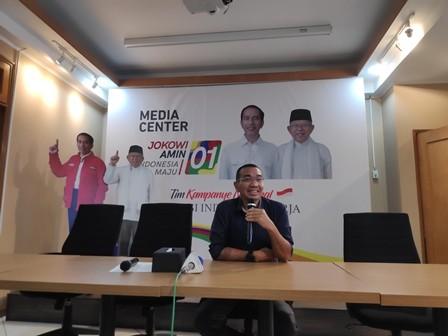 Juru Bicara Tim Kampanye Nasional Joko Widodo-Ma'ruf Amin, Arya