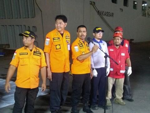 Delapan Kantong Jenazah Diserahkan ke Tim DVI
