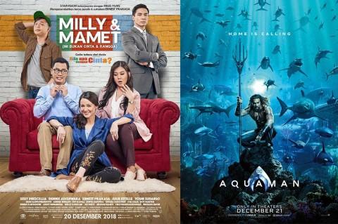 Poster Milly & Mamet dan Aquaman